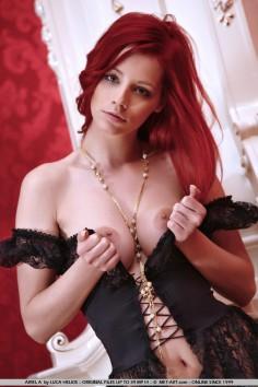 Ariel – Red Silk